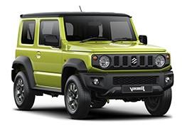 SUZUKI Jimny 1.5L 5MT AWD (101 HP)