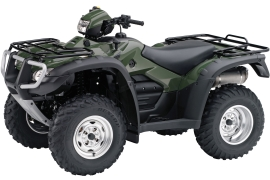 HONDA FourTrax Foreman Rubicon with EPS and GPS TRX500FGA
