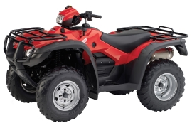 HONDA FourTrax Foreman Rubicon with Electric Power Steering TRX500FPA